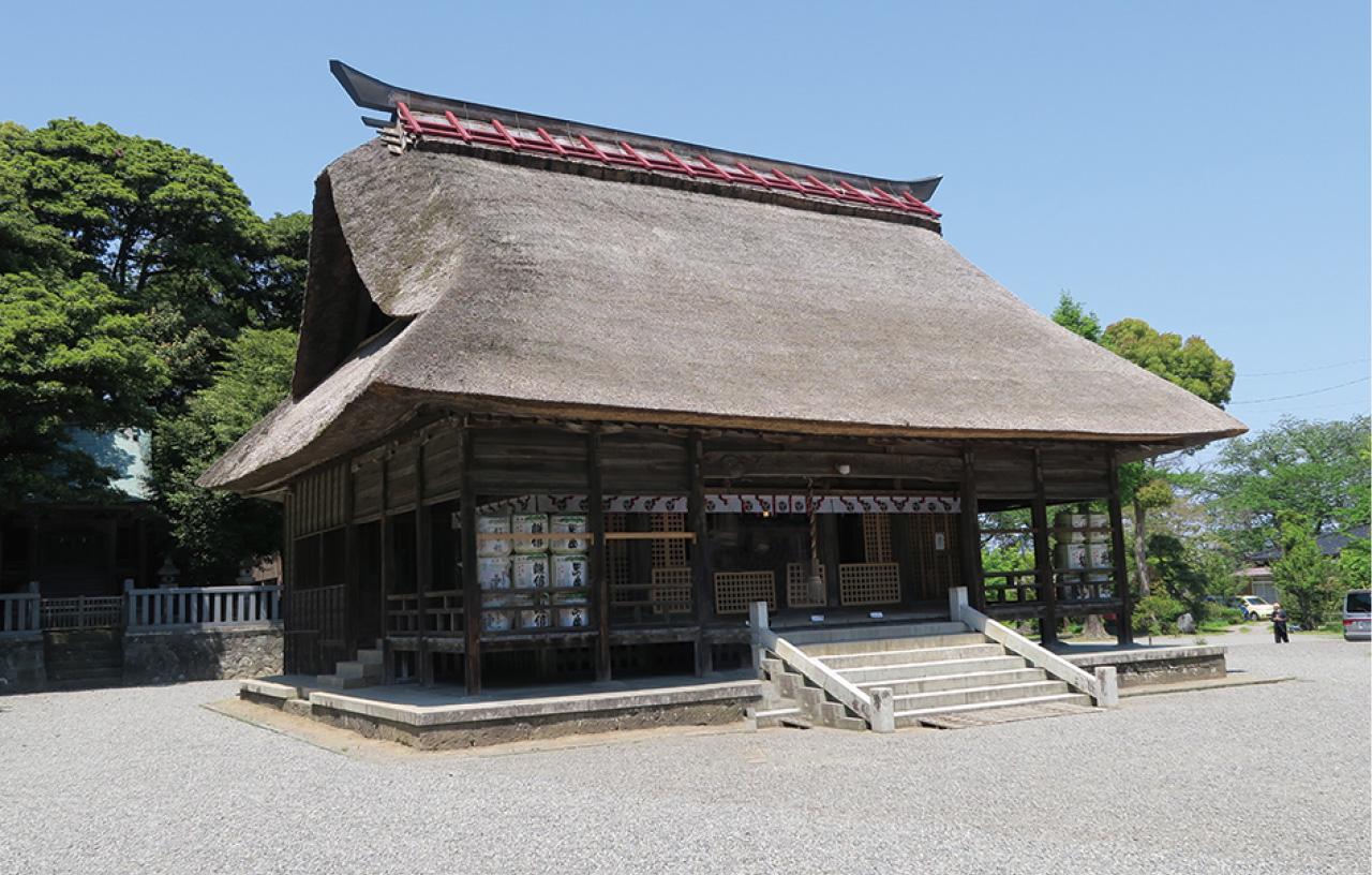 天津神社・奴奈川神社